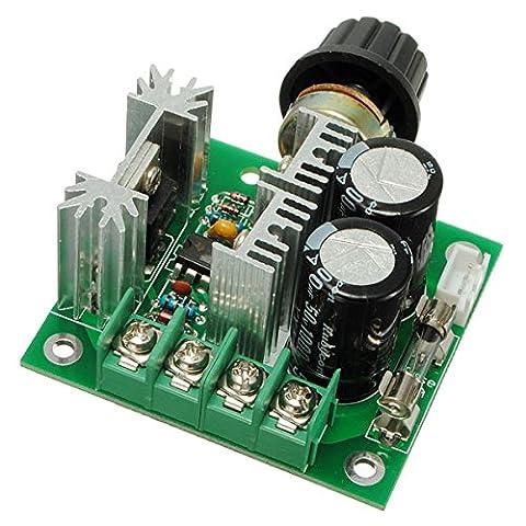 Bluelover 12V-40V 10A Modulation Pwm Dc Motor Speed ??Control Switch