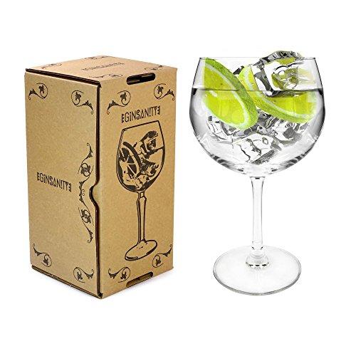 Arcoroc Juniper Thin Stemmed 'Copa de Balon' Gin Glass - 670ml Gin & T