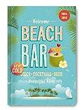 Collegetimer Beach Bar 2014/2015 - Schülerkalender A5 - Day By Day - 352 Seiten