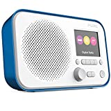 Pure Elan E3 Portable Digital DAB/DAB+ and FM Radio with Alarm - Blue