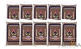 [ 10x 1kg ] ROYAL THAI Roter Naturreis / Riz Complet Rouge AAA / Red Cargo Rice + ein kleines Glückspüppchen - Holzpüppchen
