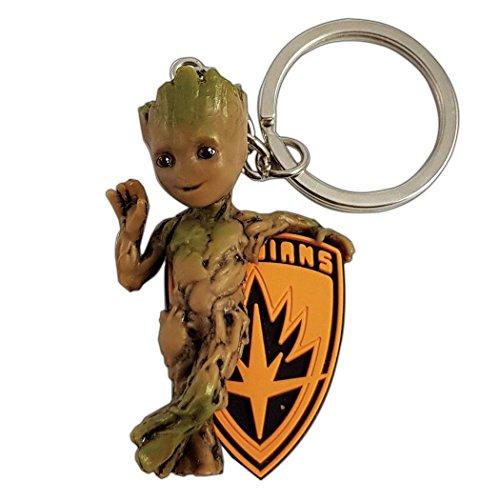 Marvel Comics PVC Keychain Baby Groot Semic Portachiavi