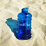 BRO JUG ™ by Sports Medica - 2.2 litre daily water bottle - extra-strong and drop resistant with flip & screw top cap - leak proof - BPA free - Perfect for: Gym, Office, Outdoor Sports & Driving - Half Gallon