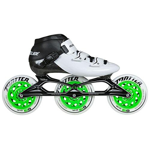 Powerslide Samurai Speedskate Inline Skate, Weiß, 38
