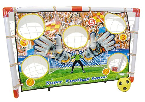 Inside Out Toys – Cage de foot avec cibles – jouet pour enfant – 1,2 x 0,8 m