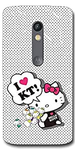 SEI HEI KI Designer Back Cover For Motorola Moto X Play - Multicolor