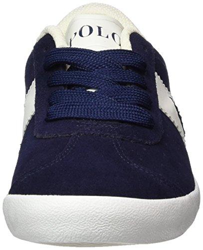 Ralph Lauren Jungen Swift Low-Top Blau (Navy Suede W/ White - navy pp)