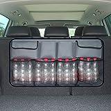 Sedile posteriore dell'automobile di Indietro Stoccaggio Bag Multi Hanging Nets Pocket Tronco sacchetto dell'organizzatore Auto Stivaggio Riordino Accessori Interni