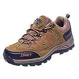 Zapatos de Senderismo para Pareja,ZARLLE Zapatillas Ligeras de Escalada Botas de Trekking al Aire Libre Seguro Respirable Calzado Deportivo para Correr Climbing Gimnasio Zapatos de Trekking
