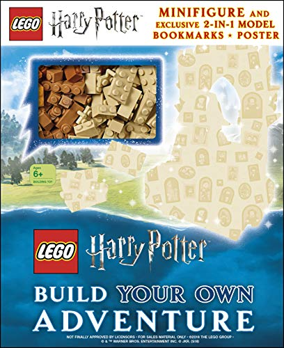 LEGO Harry Potter Build Your Own Adventure por DK