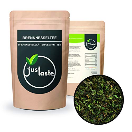 2 x 1 kg Brennesselblätter geschnitten/Brennesseltee | Brennessel | schonend getrocknet | justaste | Kräutertee Tee | 2 kg