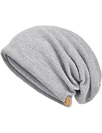 Amazon.fr   Gris - Bonnets   Casquettes, bonnets et chapeaux   Vêtements 932f82ce78b