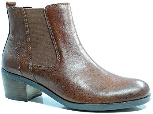 Gabor 91.640.43 bottes en cuir pour femme marron Marron - Kastanie