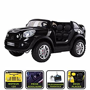 voiture lectrique enfant 12v mini cooper beachcomber avec t l commande parentale licence mini. Black Bedroom Furniture Sets. Home Design Ideas