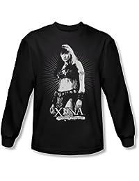 Xena: Warrior Princess - Männer tun nicht Mess With Me Langarm-Shirt in Schwarz