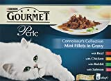 Product Image of Purina Gourmet Perle Wet Cat Food, Mini Fillets in Gravy -...