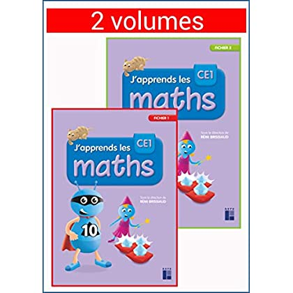 J'apprends les maths CE1 - Fichier en 2 volumes