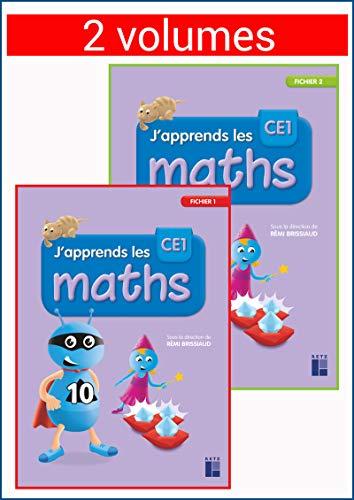 J'apprends les maths CE1 - 2 volumes par Pierre Clerc,André Ouzoulias,Florence Suire,François Lelièvre,Rémi Brissiaud