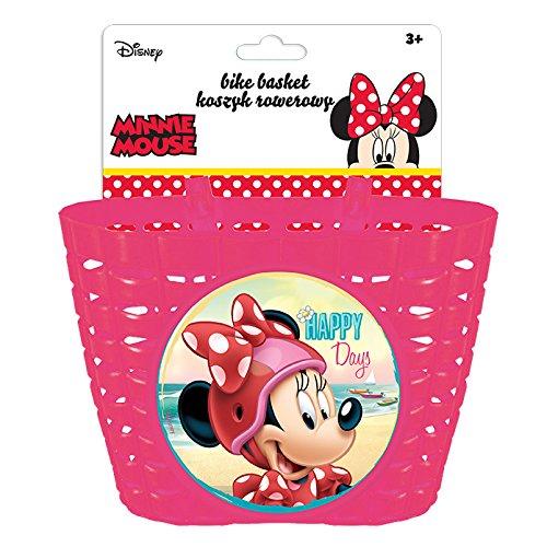 Disney Kinder Fahrradkorb Minnie, Mehrfarben, S