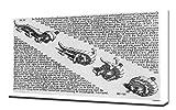 M.C. Escher - Curl-Up - Art Leinwandbild - Kunstdrucke - Gemälde Wandbilder
