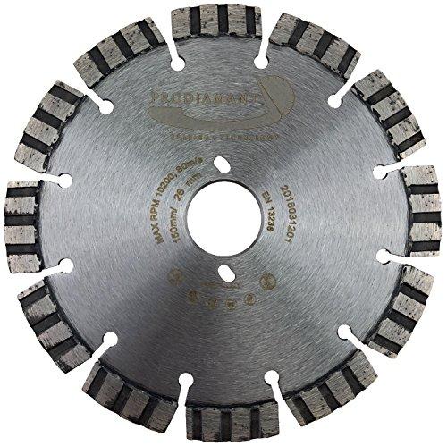 PRODIAMANT Diamant-Trennscheibe Beton 150 mm passend für Bepo Diamanttrennscheibe 150mm