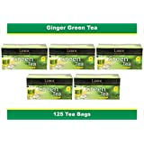 Lemor Ginger Green Tea Bag (5 pack of 25 PC)