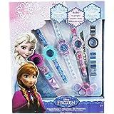 Disney - Set de relojes para niñas de 5 años y más, tema Frozen (Marvel T15150)