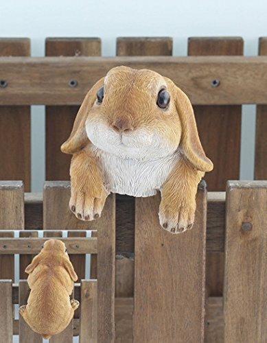 Originelle hängende Gartenfigur - Kaninchen / Hase