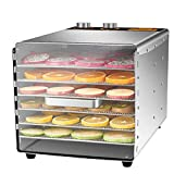 ZYFA Food Dehydrator Machine,Adjustable Timer and Temperature Control,for Jerky,Fruit,Vegetables&Nuts,Meat or Beef Jerky Maker