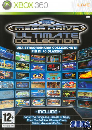 SEGA MEGA DRIVE ULTIMATE COLLECTION (Sega Collection Xbox 360)
