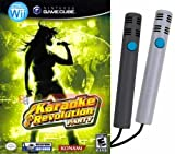 Karaoke Revolution Party (includes 2 Microphones) for Wii and Gamecube - 2 Players