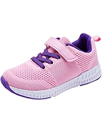 Piup Kid's Lightweight Boys and Girls Sneakers Casual Running Shoes