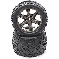 HOSIM RC coche rueda de goma neumáticos neumáticos 16-zj01para 1: 12Escala HOSIM off-road RC Car 91229123Juego de 2