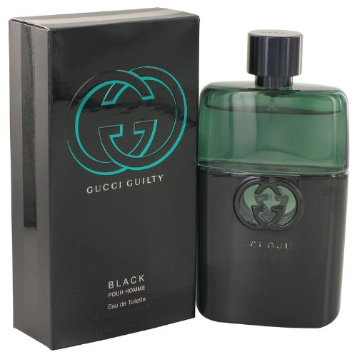 Gucci gucci guilty pour homme black eau de toilette spray 90 ml