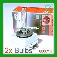 LEDPremium 2x LAMPARAS BOMBILLAS BULBS LIMASTAR © D1S 6000K E11 APPROVAL HID XENON PK32-d2