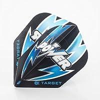 Target Power de 100plumas Phil Taylor, color negro y azul