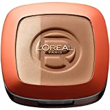 L'Oréal Paris Make Up Glam Bronze Duo Sun Powder, 102 Brunette Harmony - 2 in 1...