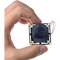 Toguard HD 800TVL 3.6mm Lens CCTV Security Hidden Pinhole Spy FPV PCB Board Camera IR-Cut