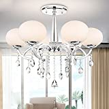 ALFRED Moderna Elegante 6 Luce Lampadario con paralume globale Morden Simple Home Ceiling Light Fixture