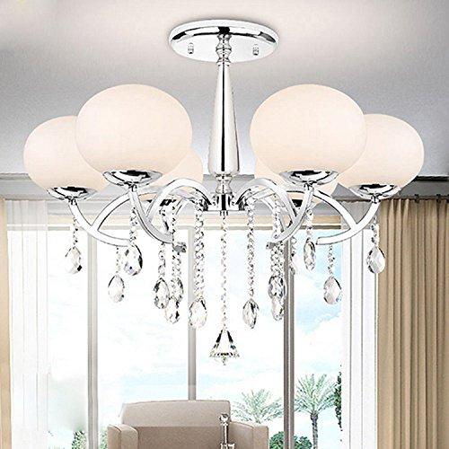 Schatten Sechs Licht Kronleuchter (ALFRED® Modernen, eleganten 6 Licht Kronleuchter mit globalen Schatten, Kronleuchter , Simple Home Leuchte Decke ... ...)