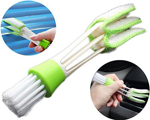 Chytaii KFZ Reinigungsbürste Auto Klimaanlage Outlet Pinsel Auto Slot Brush Corner Instrumententafel Pinsel Lattenfensterladen Bürsten