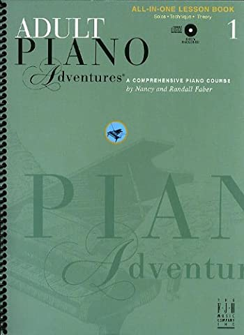 Adult Piano Adventures: Book 1: All-in-One Lesson