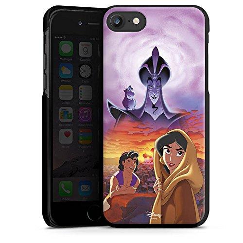 Apple iPhone X Silikon Hülle Case Schutzhülle Disney Aladdin & Jasmine Merchandise Geschenke Hard Case schwarz