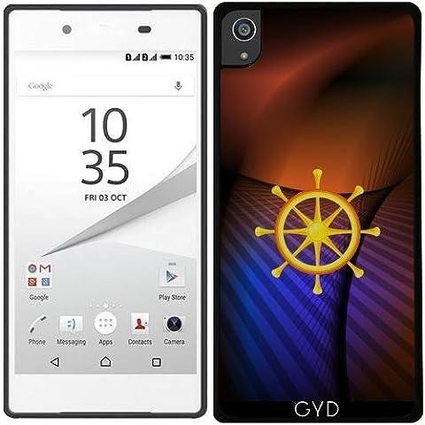 Custodia Silicone per Sony Xperia Z5 Premium - Ruota Del Dharma by hera56