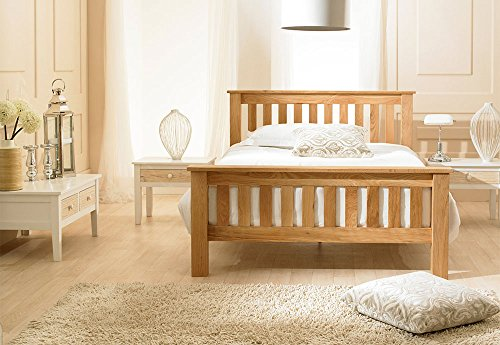 Emporia Richmond Oak Wooden Super King Size Bed