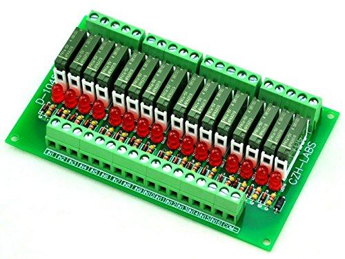 electronics-salon-modulo-rel-slim-montaggio-a-pannello-dc5v-fonte-pnp-16-spst-no-5a-potere-pa1a-5v