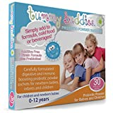Children's Probiotic Powder - 30 Days Supply - Tummy Buddies - 1 Billion Good Bacteria Per Sachet - Advanced Multi-Strain Probiotic Formula Including Acidophilus & Bifidobacterium Infantis - Suitable for New Born Babies, Infants and Kids up to 12 years old. Sugar & Additive Free - Made In The UK.