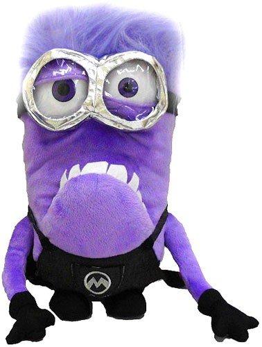 (Moi, moche et méchant Purple Minion Peluche Sac à Dos)