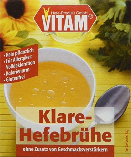 VITAM Klare Hefebrühe, 3er Pack (3 x 175 g)