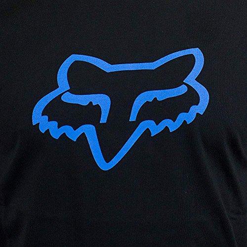 Fox T-Shirt Legacy Foxhead schwarz/blau Schwarz